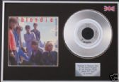 "BLONDIE - 7"" Platinum Disc+cover - UNION CITY BLUES"